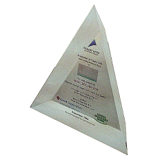 Psagot_Issue_special_slanted_triangle_shape_Lucite_internal_color_printing.png